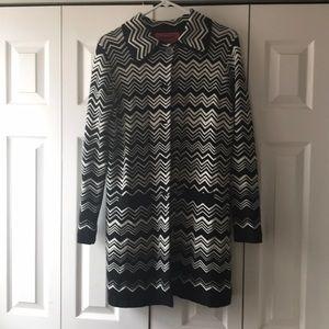 Missoni for Target Chevron Sweater Coat